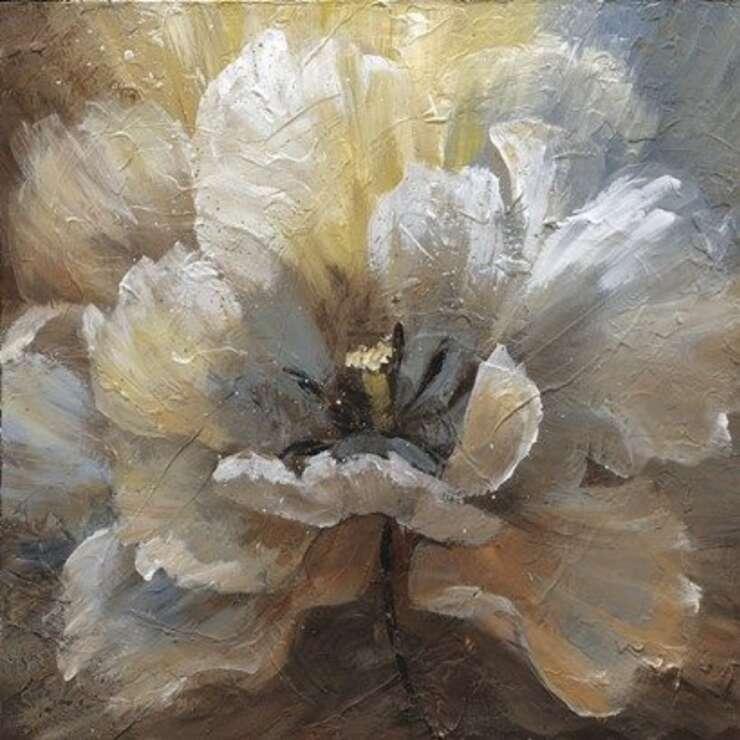 Мастер-класс — Интерьерная картина — Цветы
