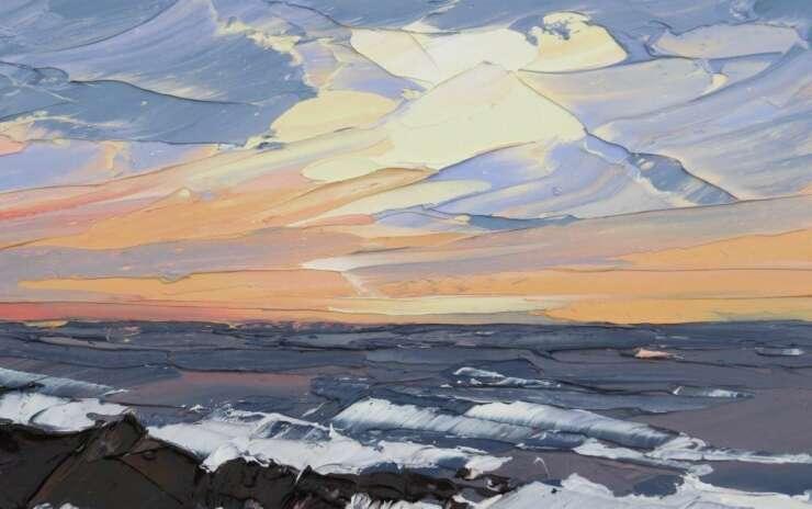 Картина Маслом — Море