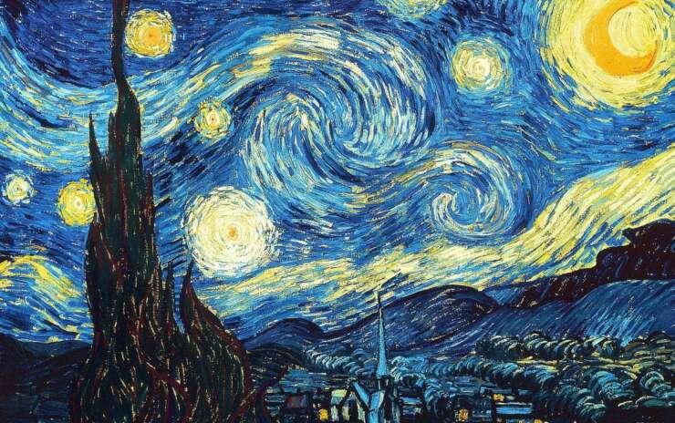 Масляная живопись — Ван Гог